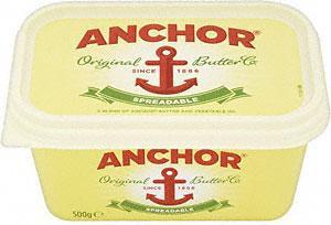 Anchor Spreadable 500G (inc. Lighter) Buy One Get one Free £2.30 (BOGOF) @ Tesco