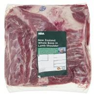 Lamb Shoulder £3/kg (down from £8.98/kg) @ ASDA