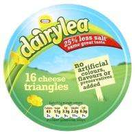 Dairylea Cheese Triangles 16pk for £1 and 8pk for 50p @ ASDA
