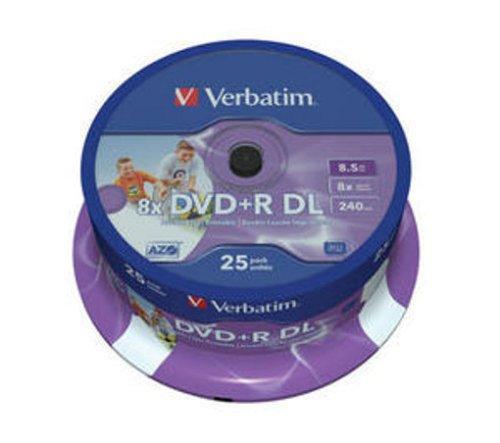25 Dual Layer Verbatim DVD+R - £19.99 Delivered @ Amazon