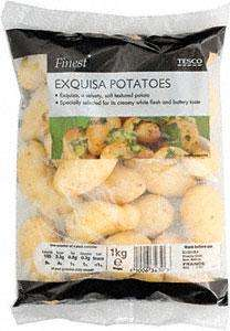 Tesco Finest Exquisa Potatoes (1Kg) Half Price £1 & Swedes 44p