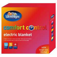 Silentnight Electric Blanket (Single) - Now £12.50 @ Tesco Direct