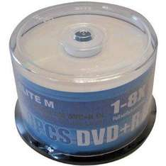 Elite 8x Full Face Printable DVD+R Dual Layer 50 Tub - £16.58 Delivered @ Amazon Sold By Refill Express