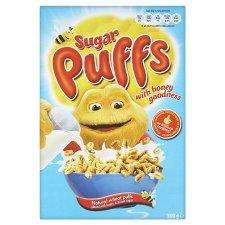 Sugar Puffs 320g buy 1 get 2 free working out 67p a box @ Tesco