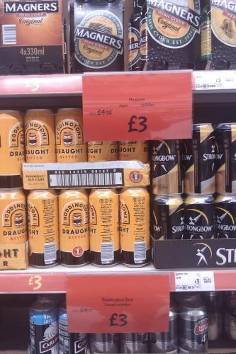 Very cheap booze! From £3 @ Asda