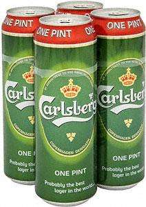 carlsberg 4x 568ml pint cans for £4 @morrisons