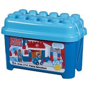 Mega Blocks Patrol Adventure Tub - 70% off - Now £8.99 Delivered To Store @ Sainsburys