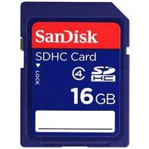 16 GB Sandisk SecureDigital High Capacity Card - £14.49 @ Amazon