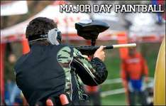 £2 For A Full Day of Paintballing In Glasgow @ KGB Deals