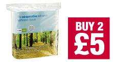 The Co-operative Soft BathroomTissue 9 pack - Two for £5