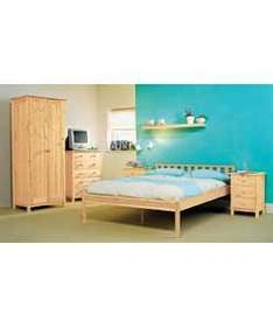 Scandinavia Double Bedroom Furniture Package - Pine - 187.41 ( including postage ) + you get £10 voucher