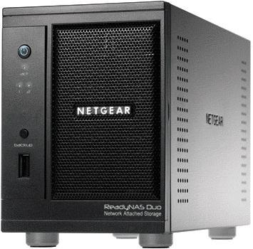 Netgear RND2120 ReadyNAS Duo 2TB NAS - With An Extra FREE 2TB Drive - £229.94 @ Ebuyer