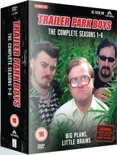 Trailer Park Boys: The Complete Seasons 1-6 (DVD) - £17.85 @ The Hut