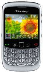 *REFURBISHED* Silver BlackBerry Curve 8520 -  £6.38 Per Month with Redemption @ Mobiles