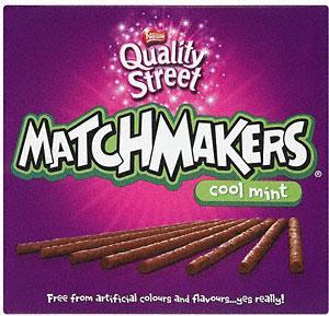 Nestle Matchmakers Zingy Orange or Cool Mint 151G £1 @ Tesco