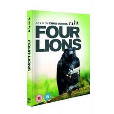 Four Lions On DVD - £4.65 Delivered @ Amazon