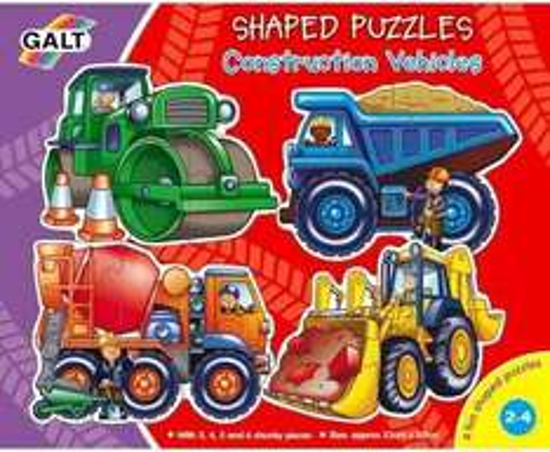 Galt Construction Vehicles Puzzles - £2.81 Delivered (£6.99 rrp) @ Amazon