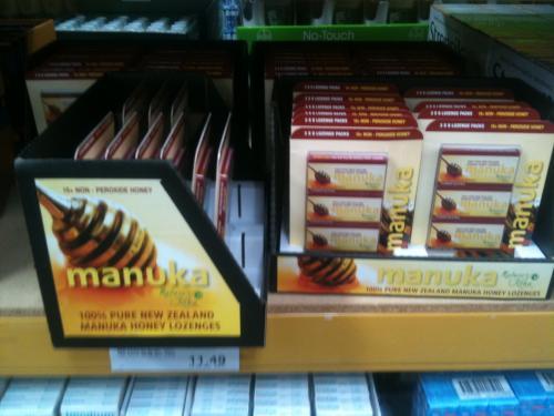 Natures Koha Manuka Lozenge 15+ NPA  £9.99 @ Costco