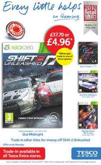 Shift 2: Unleashed - £37.70 or £4.96 When You Trade In A Selected Game *Instore* @ Tesco