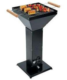 Pedestal Charcoal BBQ with a Gloss Black Finish @ argos - £24.99