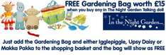 Free In The Night Garden Gardening Set Worth £15 When You Buy Any In The Night Garden Talking Plush @ The Toy Shop