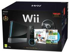 Nintendo Wii Console - Black With Mario Kart - £129.99 @ Game
