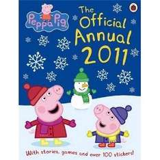 Peppa Pig: The Official Annual 2011 - £1.99 Delivered @ Amazon