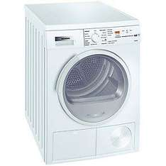 Siemens WT46E384GB Sensor Condenser Tumble Dryer, White £349 after trade in with free 5yr warranty @ John Lewis