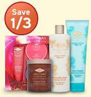 Save 1/3rd on new Mandara Spa beauty products exclusive to Sainsbury's