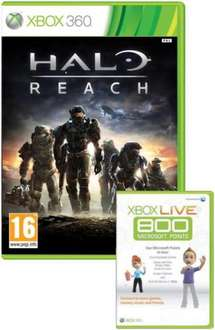 Halo: Reach For Xbox 360 (Includes 800 Points Live Card) - £23.91 @ Asda Entertainment