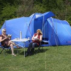 Kangari 8 Man Tent Tunnel / Person / Berth - £104.99 @ Amazon Sold By Cyber Checkout