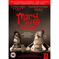 Mary And Max (DVD) - £6.49 @ Play & Amazon