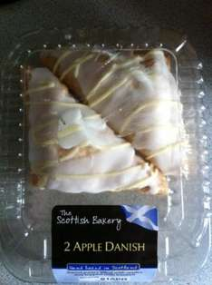 2 x Apple Danish Pastries/Cakes @ Asda instore was £1.25 ROLLBACK to 25p