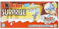 Kinder Surprise Chocolate Egg (3 x 20g eggs per pack ) Two for £2  @ Asda
