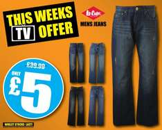 Lee Cooper Jeans - £5 @ Sports Direct