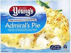 Young's Admiral's Pie (340g) was £1.26  now 63p @ Morrisons