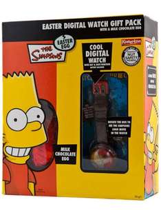 Simpsons Easter Egg & Watch - 99p - @ 99pStores