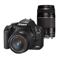 Canon EOS 500D + 18-55mm + 75-300mm Twin Lens Kit + Free Mini Activity Camera + Free Next Day Delivery - £599.95 @ Jessops