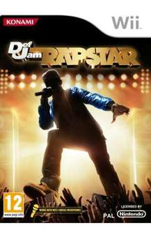 Def Jam: Rapstar with Microphone For Nintendo Wii, PS3 & Xbox 360 - £17.99 @ Play