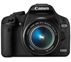 Refurbished Canon EOS 500D with 18-55mm f3.5-5.6 IS EF-S - £407.99 Delivered @ Camera World