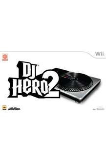 DJ Hero 2 with Turntable & Free DJ Hero 1 Software For Nintendo Wii - £29.99 Delivered @ Play