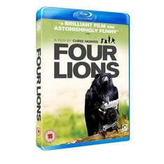 Four Lions On Blu-ray (2010) - £6.99 Delivered @ Amazon UK