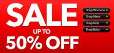 Upto 50% off clothing @ Asda instore