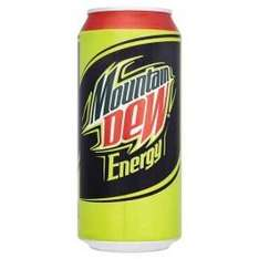 Mountain Dew Energry 440ml. 2 for £1! @ Farmfoods