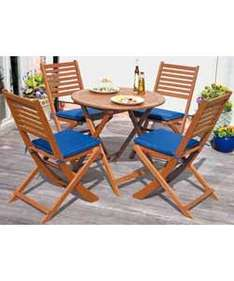 Windsor 4 Seat Hardwood Patio Furniture Set - £99.99 @ Argos