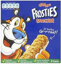 Kellogg's Cereal & Milk Bars eg. Frosties & Coco Pops (6 x 25g pack) £1 in Co-op