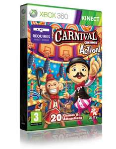 Carnival Games In Action (Kinect) (Xbox 360) - £20.86 @ Shopto