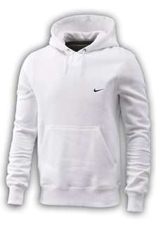 Adult White Nike Fundamentals Over Head Hooded Top Ebay deal of the day (littlewoods-clearance) £12.99