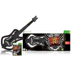 Guitar Hero 6: Warriors of Rock Guitar Bundle For Xbox 360 - £34.99 @ Amazon