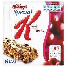 Special K cereal bars all flavours £1 at Morrisons half price